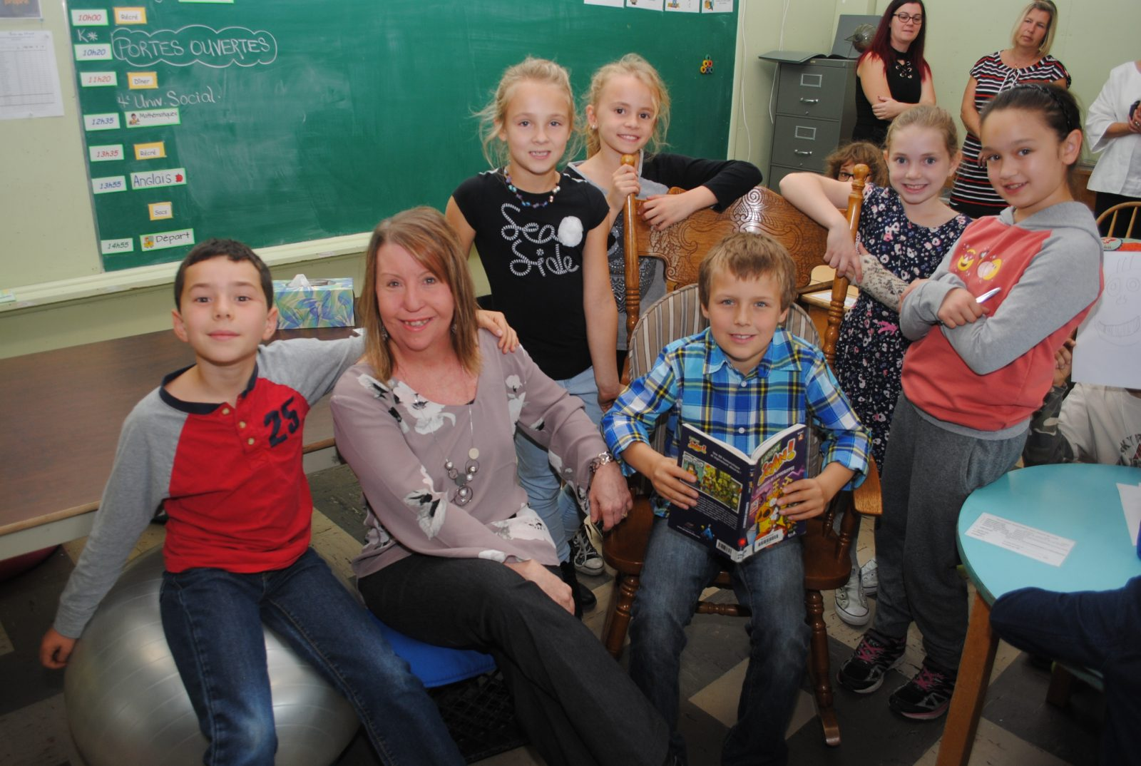L'école Gendreau de Coaticook inaugure une seconde classe flexible