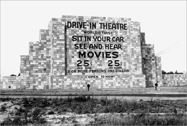 6 juin 1933 – Ouverture du premier ciné-parc