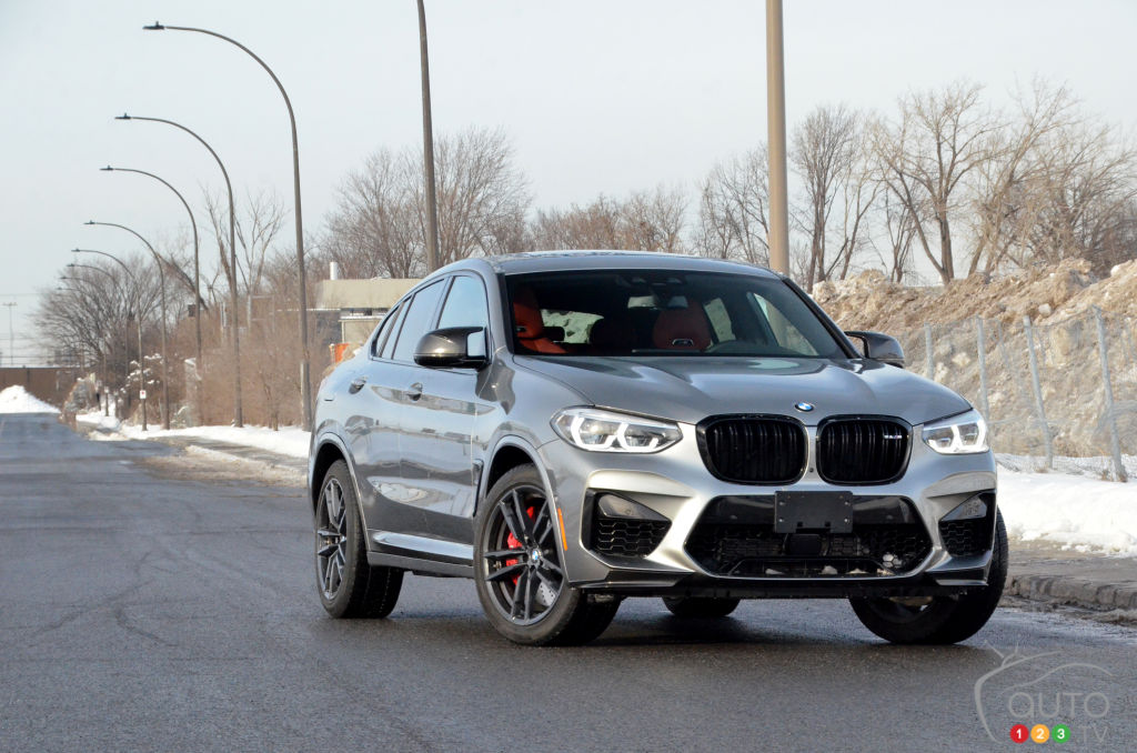 Essai du BMW X4 M Competition 2021 : voiture sport ou utilitaire sport?
