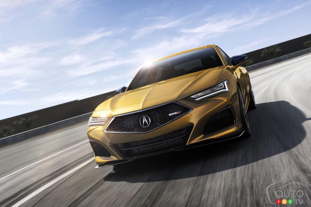Acura Canada annonce les débuts de la TLX Type S 2021