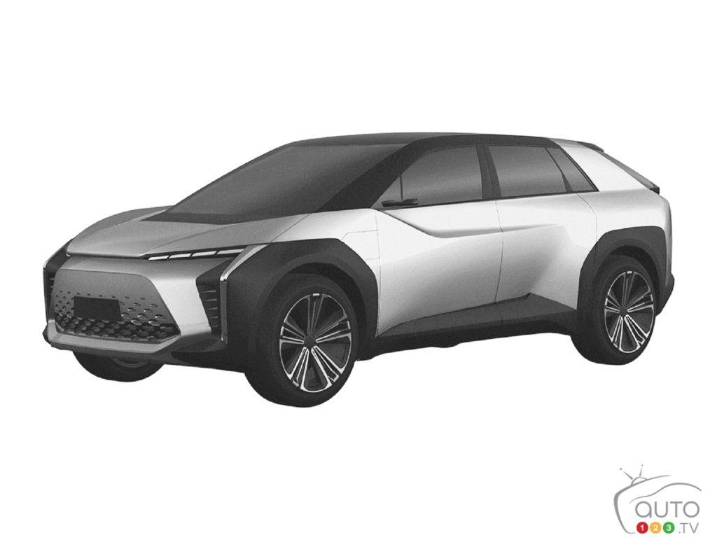 Toyota va présenter un VUS électrique au Salon de Shanghai